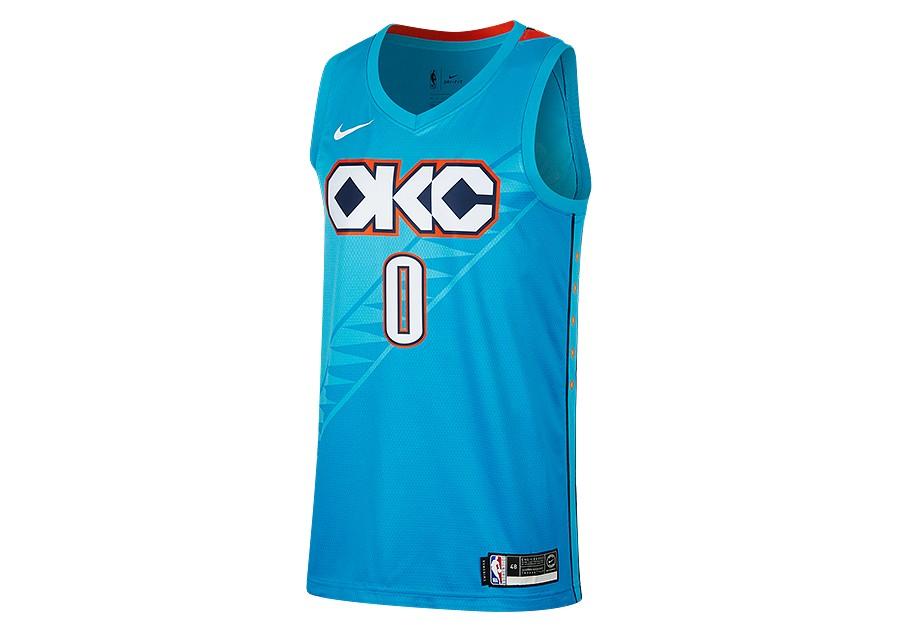 the best attitude e2149 8f374 NIKE NBA OKLAHOMA CITY THUNDER RUSSELL WESTBROOK SWINGMAN ...