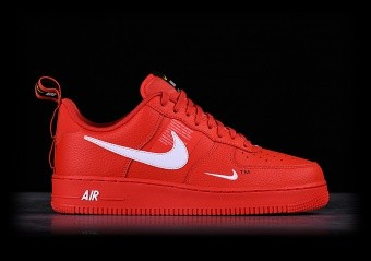 1fb0321c0884 NIKE AIR FORCE 1  07 LV8 UTILITY TEAM ORANGE