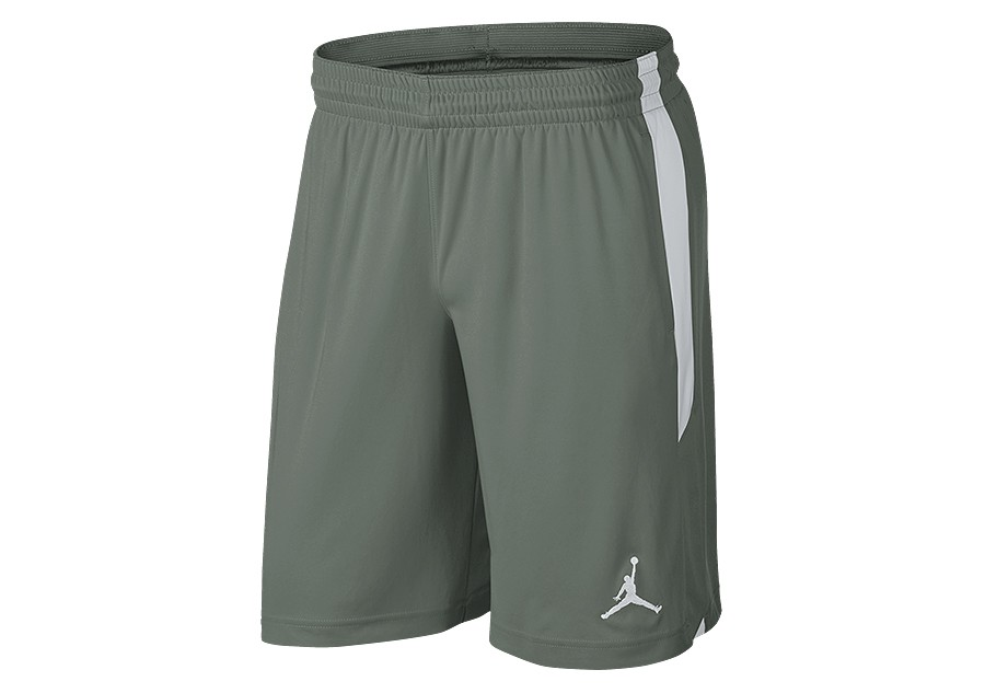 4a12d0193083 NIKE AIR JORDAN 23 ALPHA DRY KNIT SHORTS VINTAGE LICHEN price €32.50 ...