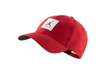 NIKE AIR JORDAN HERITAGE86 LEGACY FLIGHT HAT GYM RED
