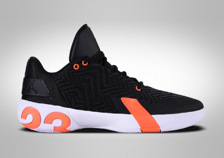 NIKE AIR JORDAN ULTRA.FLY 3 LOW BLACK ORANGE