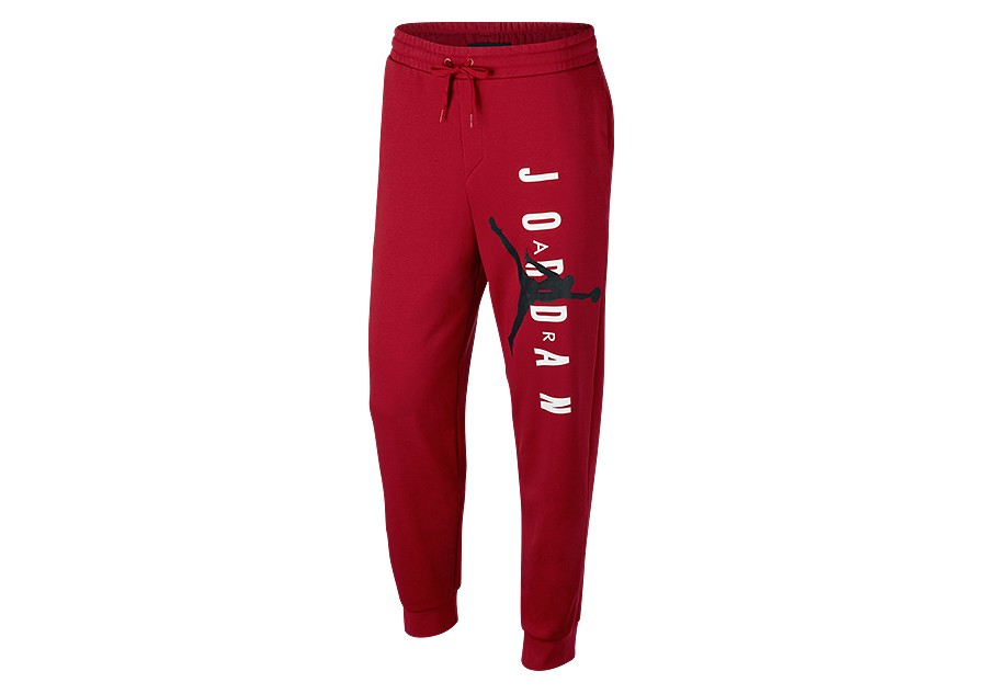 19e65f8a81b NIKE AIR JORDAN JUMPMAN AIR LIGHTWEIGHT FLEECE PANTS GYM RED price €77.50 |  Basketzone.net