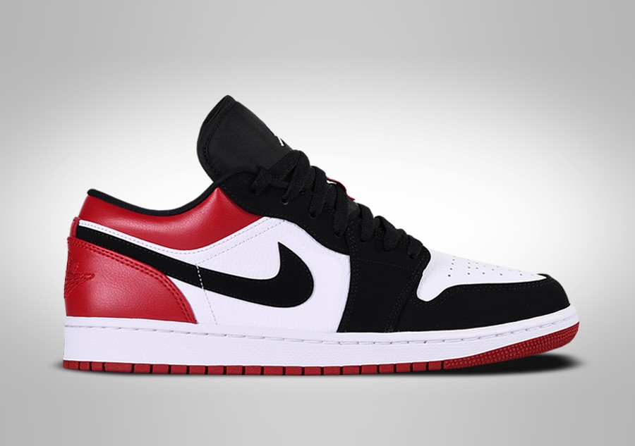 new lifestyle designer fashion sleek NIKE AIR JORDAN 1 RETRO LOW BLACK TOE price €112.50 | Basketzone.net