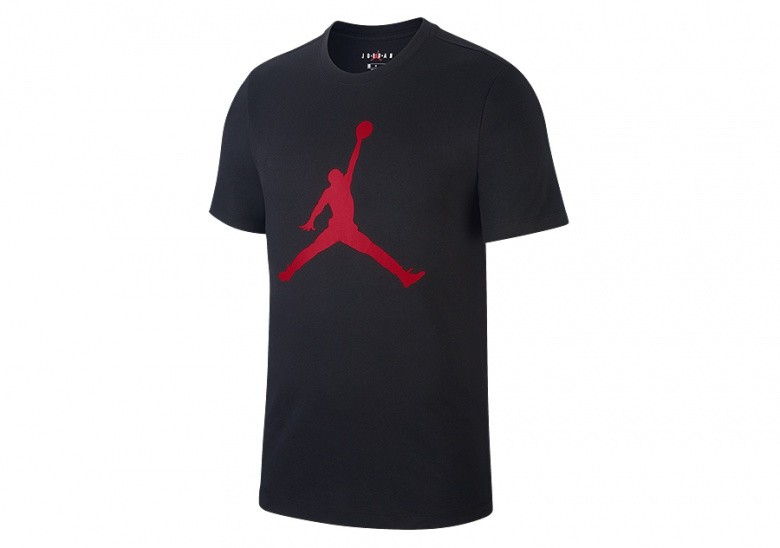 NIKE AIR JORDAN JUMPMAN TEE BLACK