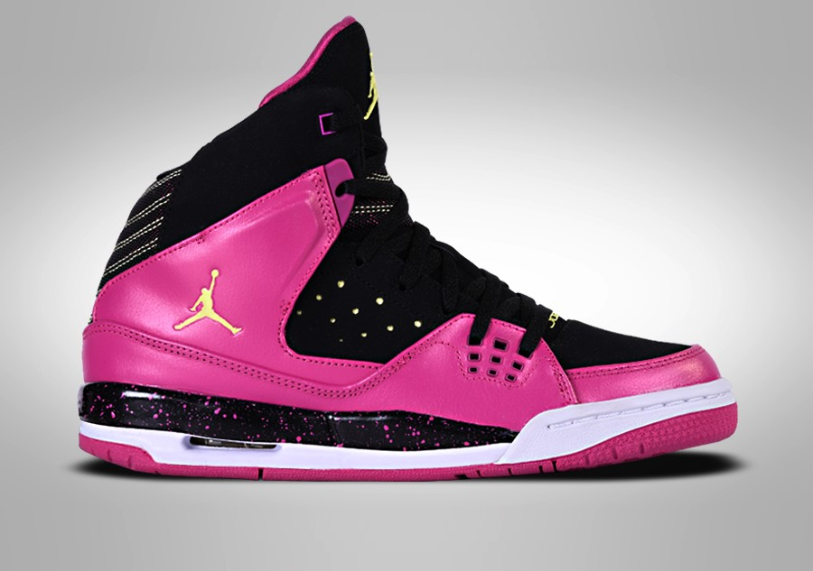 size 40 57a6e f03eb NIKE GIRLS JORDAN SC-1 GS BLACK FLASH PINK price €67.50 ...