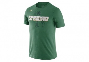 NIKE NBA BOSTON CELTICS DRI-FIT MANTRA TEE CLOVER