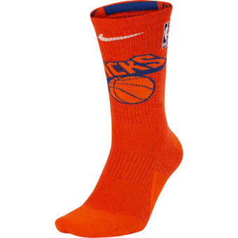 NIKE NBA NEW YORK KNICKS ELITE CREW SOCKS