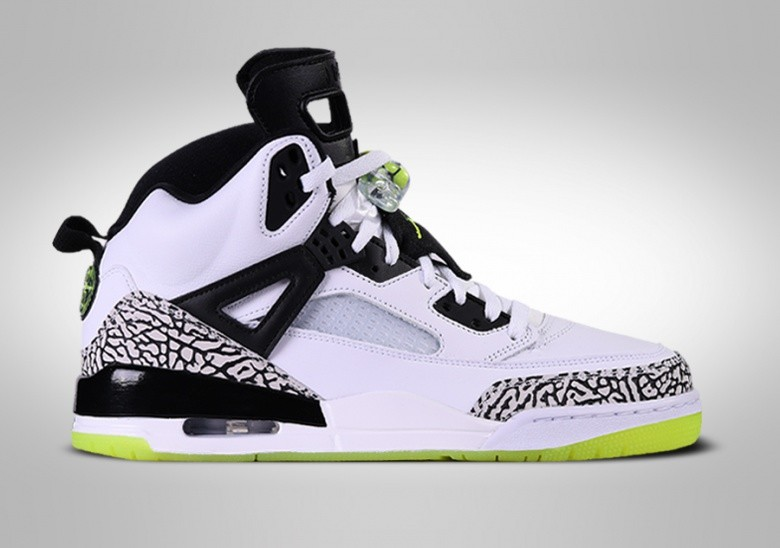 NIKE AIR JORDAN SPIZIKE WHITE VOLT BLACK