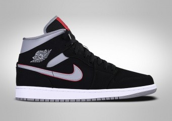 NIKE AIR JORDAN 1 RETRO MID BRED GS