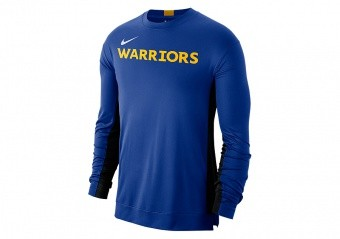 NIKE NBA GOLDEN STATE WARRIORS Dri-FIT SHOOTER TOP RUSH BLUE