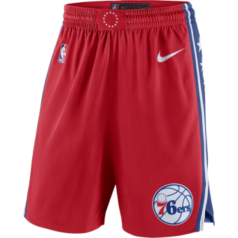 NIKE NBA PHILADELPHIA 76ERS SWINGMAN SHORTS
