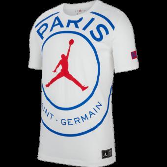 AIR JORDAN PSG PARIS SAINT-GERMAIN LOGO TEE
