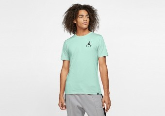 NIKE AIR JORDAN SPORTSWEAR JUMPMAN AIR EMBROIDERED TEE IGLOO