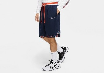NIKE DRI-FIT DNA BASKETBALL SHORTS COLLEGE NAVY