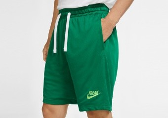 NIKE GIANNIS FREAK SHORTS PINE GREEN