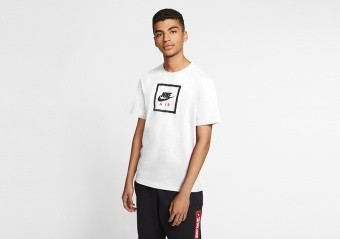 NIKE SPORTSWEAR AIR TEE WHITE