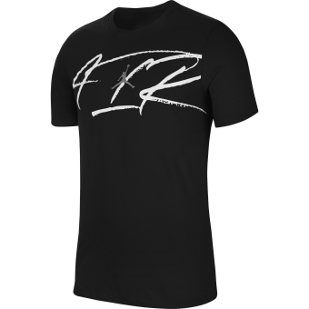 JORDAN AIR SCRIPT CREW DRI-FIT TEE