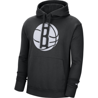 NIKE NBA BROOKLYN NETS ESSENTIAL PULLOVER FLEECE