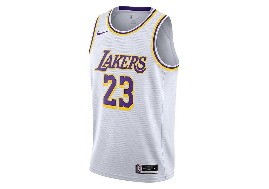 NIKE NBA LOS ANGELES LAKERS LEBRON JAMES ASSOCIATION EDITION ...