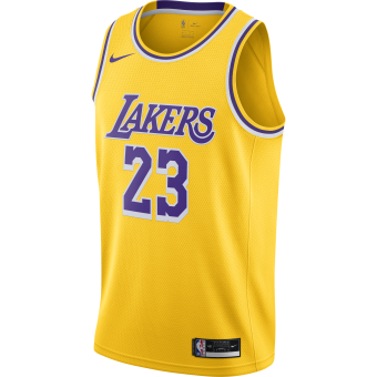 NIKE NBA LOS ANGELES LAKERS ICON EDITION SWINGMAN JERSEY