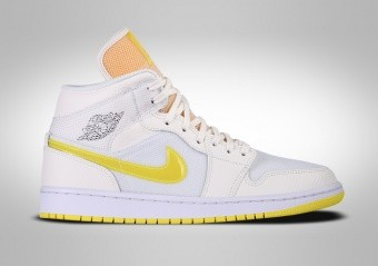 NIKE AIR JORDAN 1 RETRO MID SE WMNS VOLTAGE YELLOW