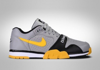 NIKE CROSS TRAINER LOW GREY SPEED YELLOW
