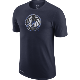 NIKE NBA DALLAS MAVERICKS EARNED EDITION LOGO DRI-FIT TEE