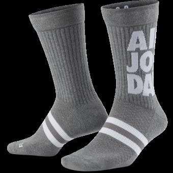 JORDAN LEGACY JUMPMAN CLASSICS CREW SOCKS (2 PAIRS)