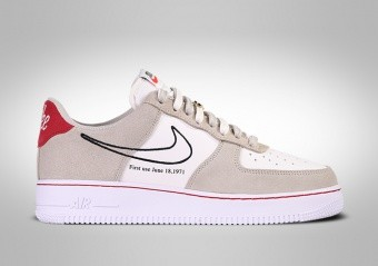 NIKE AIR FORCE 1 LOW FIRST USE LIGHT STONE
