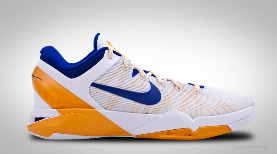 NIKE ZOOM KOBE 7 VII SYSTEM L.A LAKERS HOME