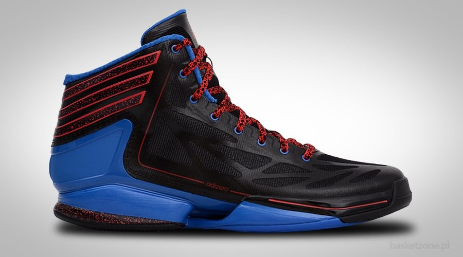 ADIDAS ADIZERO CRAZY LIGHT 2 Black Blue Red