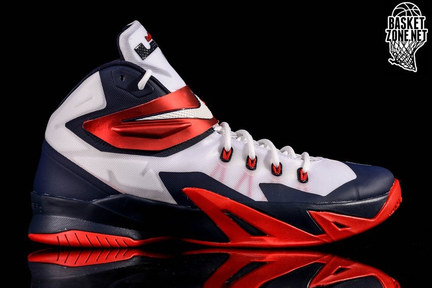 info for bdad3 9b961 NIKE ZOOM SOLDIER VIII LEBRON DREAM TEAM USA HOME