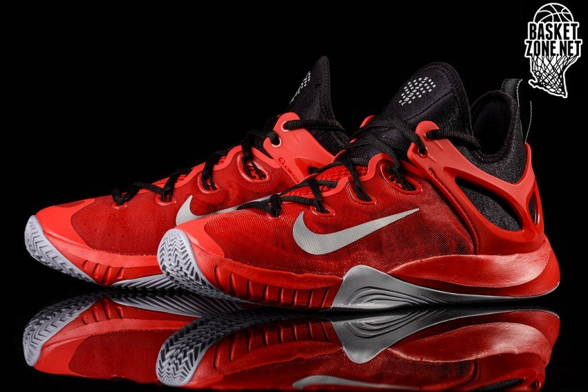 size 40 39ebc 9bf85 NIKE ZOOM HYPERREV 2015 BLOODY RED JAMES HARDEN